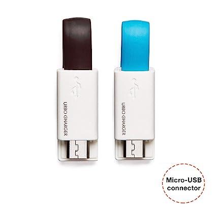 Amazon.com: Urbo - Cable cargador de llavero para ...