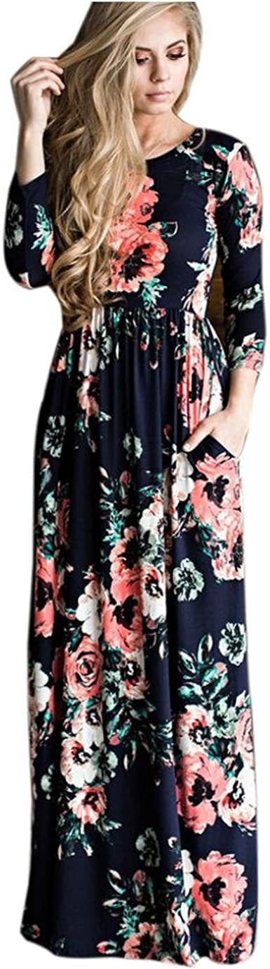 see size charts Women/'s spring//summer Boho vintage Evening Party Beach Dresses
