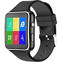 Bluetooth Smartwatch-Smart Watch For Android Phones iPhone compatible With Camera TF/SIM card slot ,Fitness Tracker Watch With Sleep Monitor, Pedometer Watch compatible with IOS and Androids For Men Women Kids