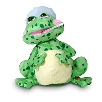 """Fever Frog 12"""" Tall Animated Singing Plush With Light Up Cheeks, Movement & Song Hospital Gift: Toys & Games"""