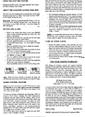 amazon com sharp spc364 atomic lcd bedside alarm clock silver rh amazon com Sharp Atomic Clock with Temperature Sharp Atomic Clock User Guide