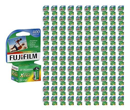 500 Rolls Fuji Superia X-TRA 400 35mm Film Fujifilm Camera CH 135-24 Carded 2017 by Fujifilm