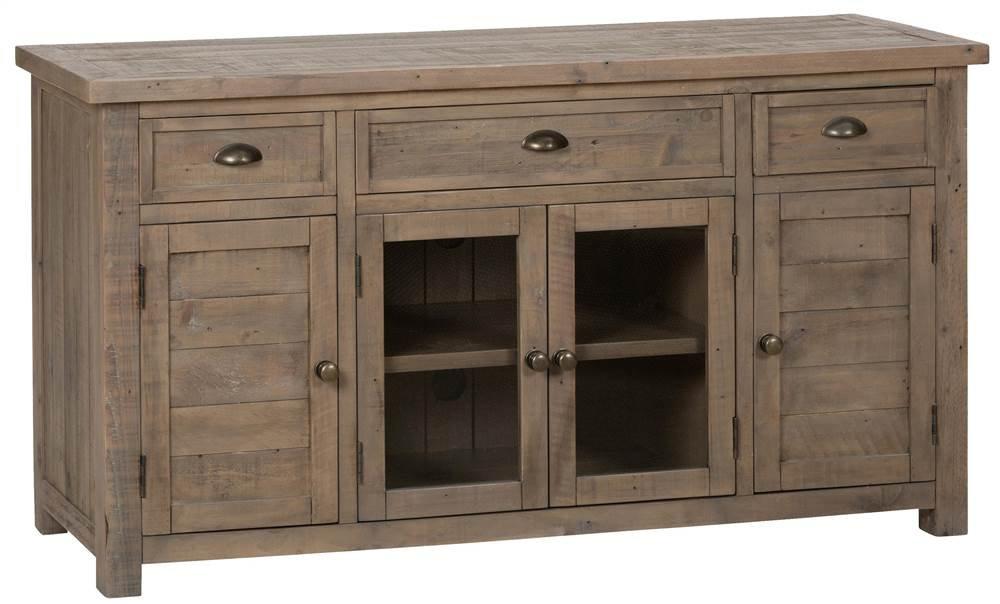 Amazon.com: Reclaimed Wood Media Unit: Kitchen & Dining