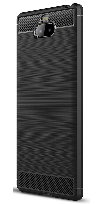 Coque Sony Xperia XA1, Tianqin Ultra Lé ger Anti-Choc Anti-Choc en Silicone TPU [Anti Slip] [Ré sistant aux Rayures] Housse de Protection Pour Sony Xperia XA1 Shell de Protection- Rouge