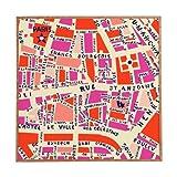 Best DENY Designs Digital Photo Frames - Deny Designs Holli Zollinger, Paris Map Pink, Framed Review