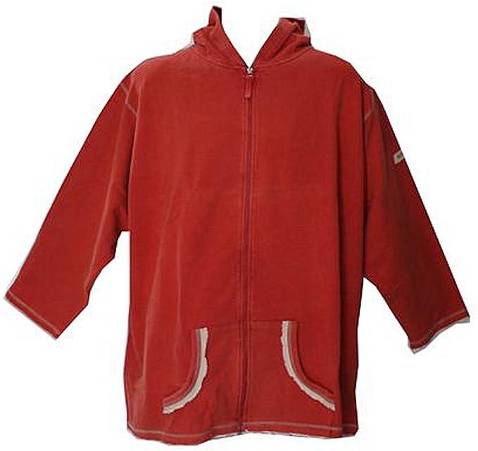 AHORN Arce Sudadera Capucha Jersey übergröße Rojo 3 X l, 4 x l, 5 x l: Amazon.es: Ropa y accesorios