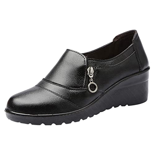 économiser 2ac17 588d5 HLIYY Printemps Et Automne Chaussures Femmes Chaussures Mère ...