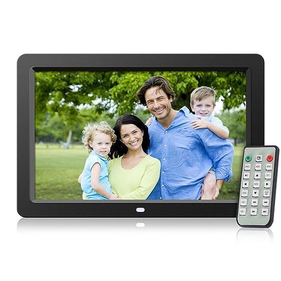 Andoer - Marco de fotos digital con pantalla LCD (10 pulgadas) de ...