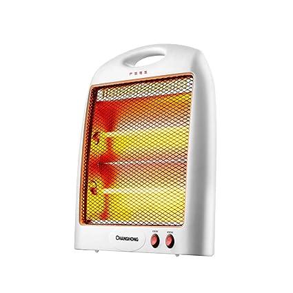 KDH Calefactor, Mini Radiadores Halógenos, Calentador de Tubo de Cuarzo de Mesa Estufa de