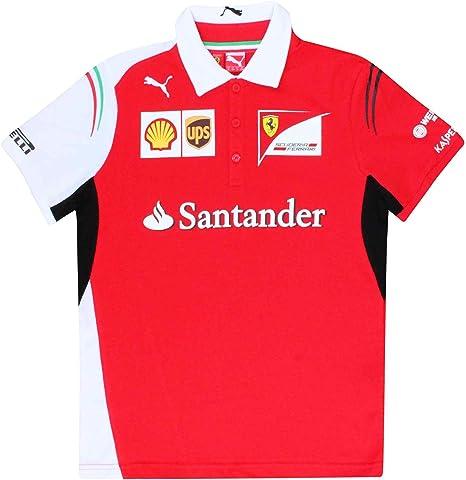 Scuderia - Polo oficial F1 para niños (100% algodón): Amazon.es: Deportes y aire libre
