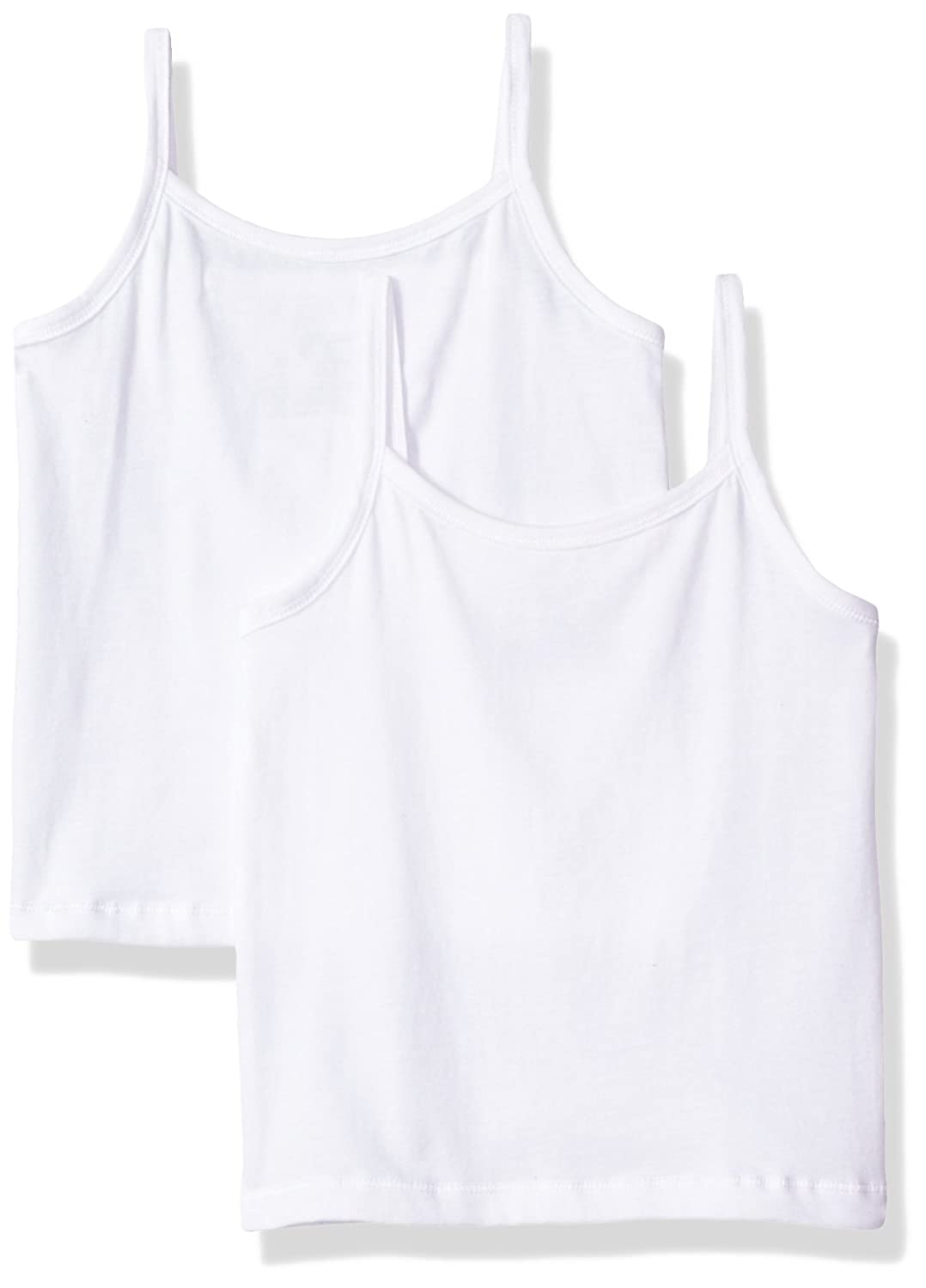 Hanes Big Girl's Ultimate Cotton Stretch 2 Pack Cami GUC37A