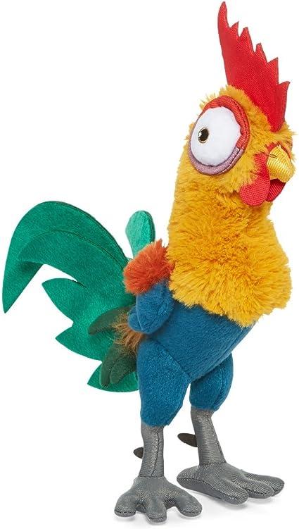 Amazon Com Disney Heihei Hei Hei Plush Disney Moana Small Chicken Rooster Doll Toy Toys Games