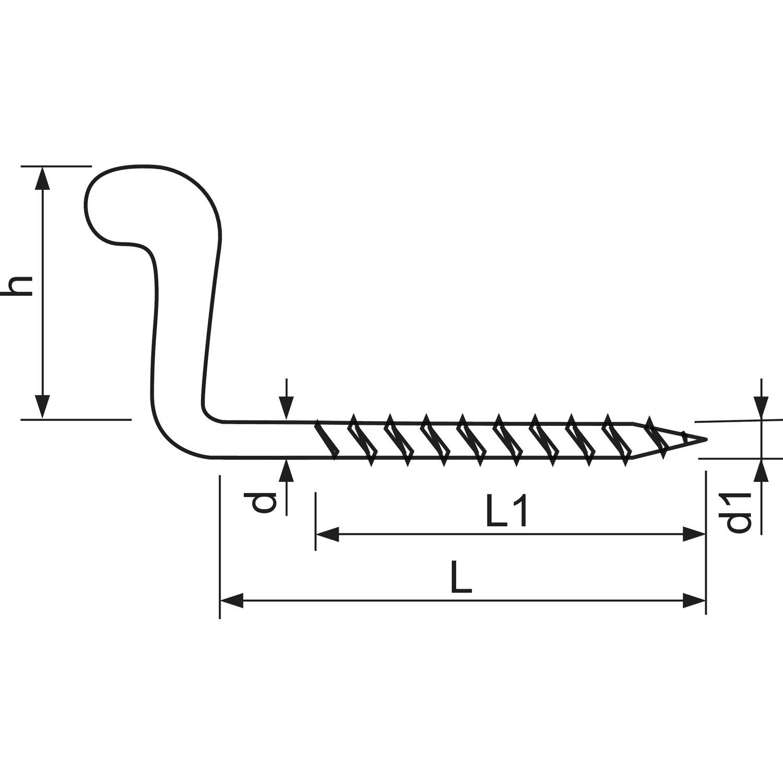 Wiener Vorreiber 30//5 mm Fenstervorreiber Fensterriegel Silber Verzinkt 10 St