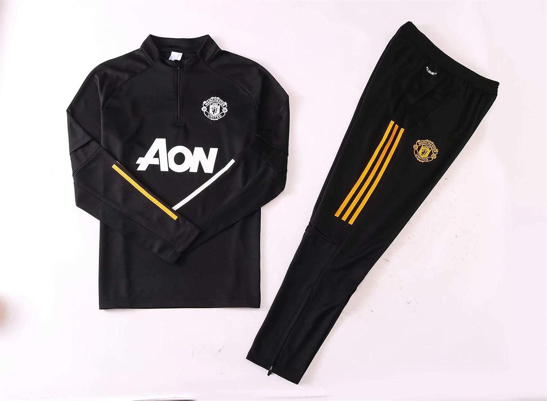 Manchester United Football Club Sportswear Fans Jersey Game Uniformes LQRYJDZ Uniformes de Entrenamiento de f/útbol para Hombre