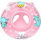Bambino Seggiolino Gonfiabile Sicurezza Piscina Galleggiante Anello di Nuotata Pink