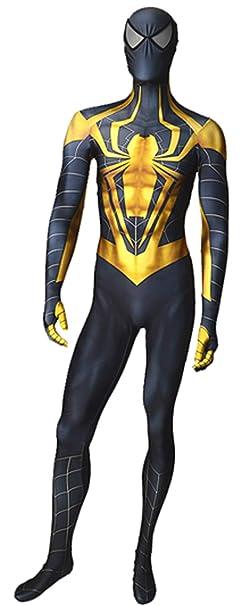 Amazon.com: Disfraz de Spiderman de Spiderman de cromo para ...