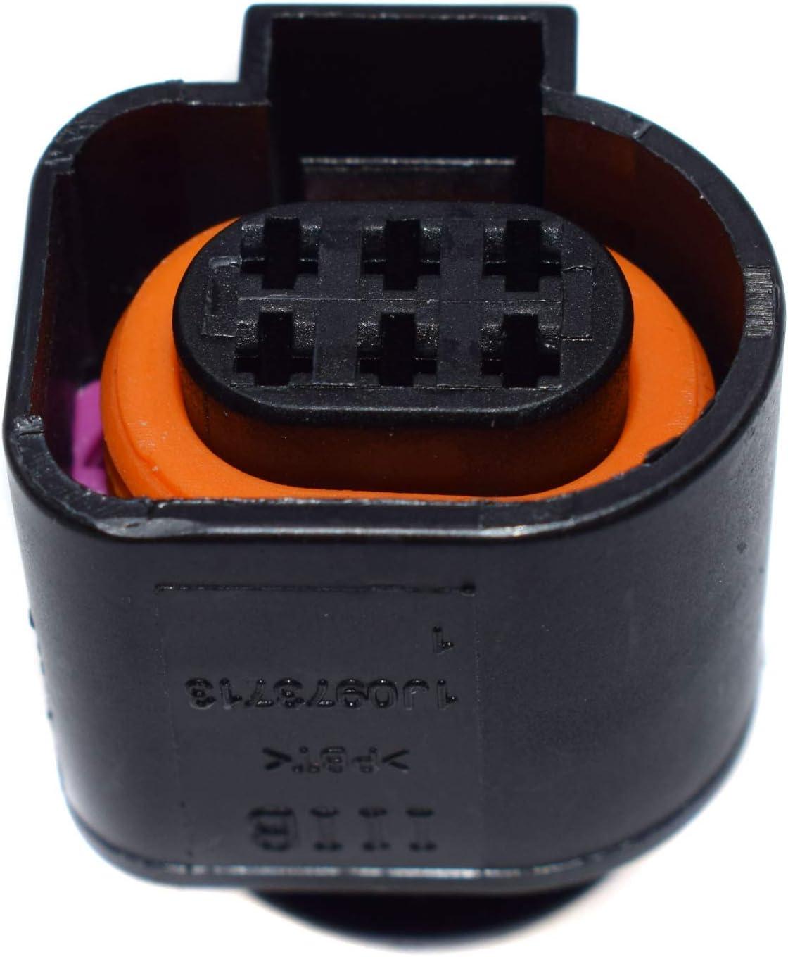 1J0973713 Wideband Lambda//AFR Sensor Stecker Set f/ür VWS Passat Jetta GTI AUDIS