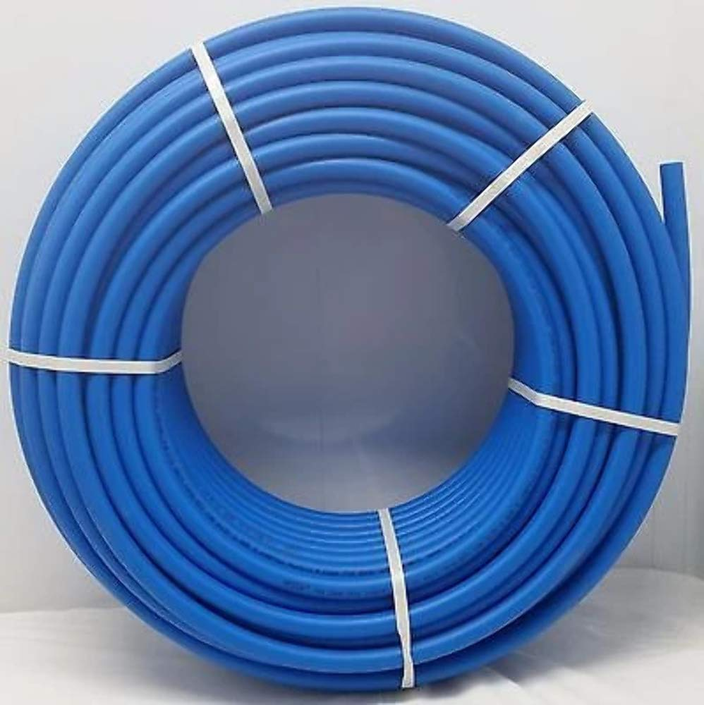 3/4'' - 300' Coil - Blue Certified Non-Barrier PEX Tubing Htg/Plbg/Potable Water by Badgerpipe