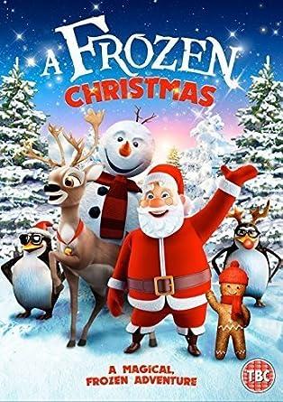 Frozen Christmas.A Frozen Christmas Dvd Amazon Co Uk Evan Tramel Carl