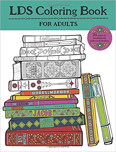 Amazon.com: LDS Coloring Book For Adults (9781942298328): Misty ...