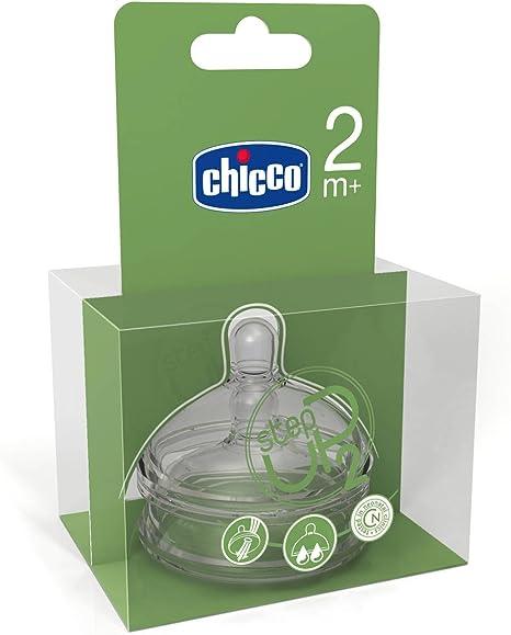 Chicco 00060074200000 Step-Up 2 - Tetinas de silicona de flujo rápido (2 unidades): Amazon.es: Bebé