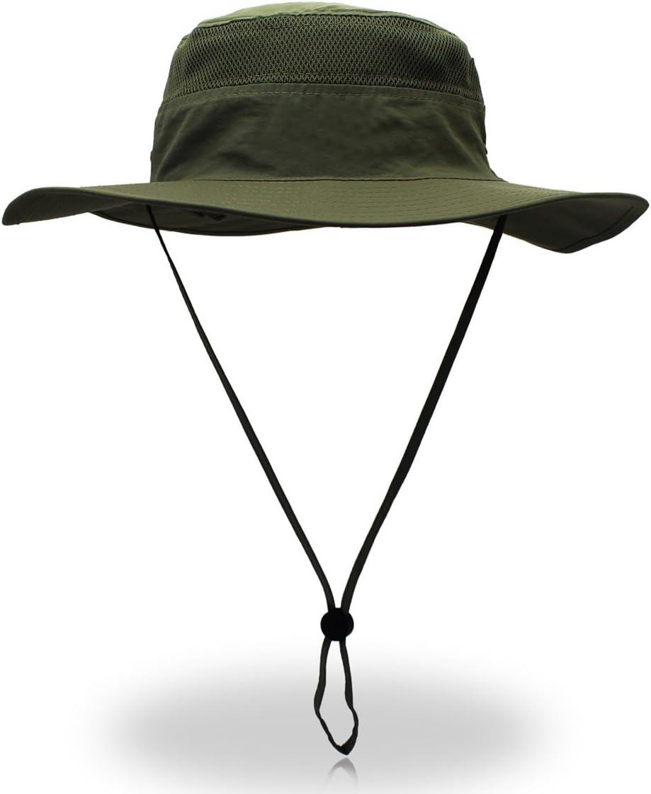 Saoirse.Hats Sombrero de verano para hombre, protección UV, unisex, plegable, transpirable, talla 60