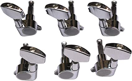 6pcs Enclosed Guitar Tuning Pegs Guitar Machine Heads For Folk Acoustic And Electric Guitar Amazon Co Uk Musical Instruments