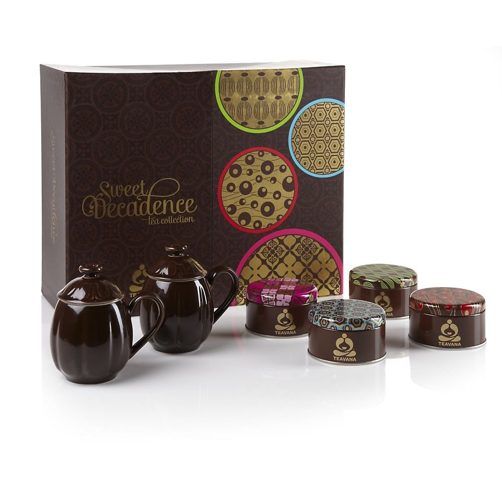 Amazon.com : Teavana Sweet Decadence Tea Gift Set : Gourmet Tea ...