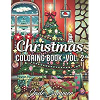 Christmas Coloring Book: An Adult Coloring Book with Fun, Easy, and Relaxing Coloring Pages (Volume 2)