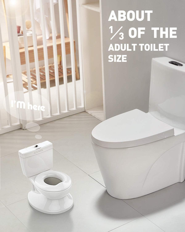 Pour Apprentissage de La Propret/é Blanc ADOVEL Toilette Enfant Facile /à Propre Pot Bebe Toilette