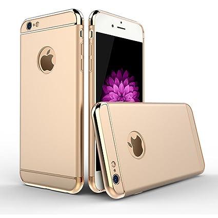 iMounTop Carcasa iPhone 6 / iPhone 6s Carcasa Funda , 3-en-1 la Tecnología de Enchapado Protector Anti-Arañazos Funda Carcasa Case para iPhone 6 / 6S ...