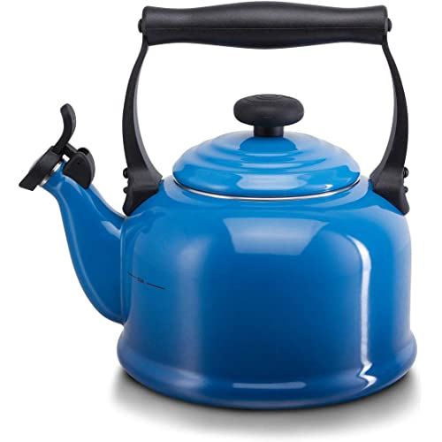 Le Creuset Traditional Kettle 2.1 Litre Marseille Blue
