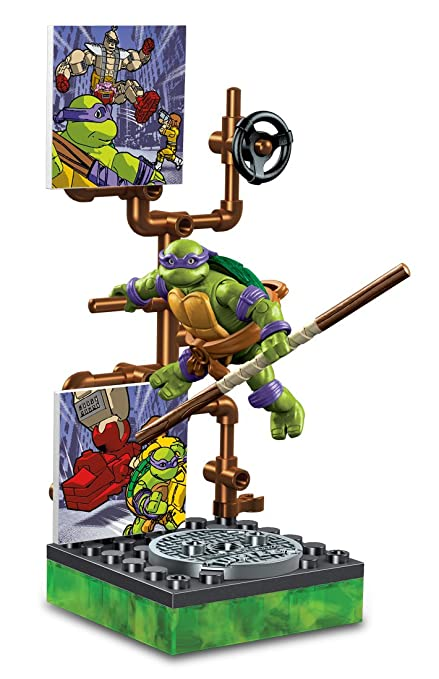Mega Bloks Teenage Mutant Ninja Turtles Collectors 1987 ...