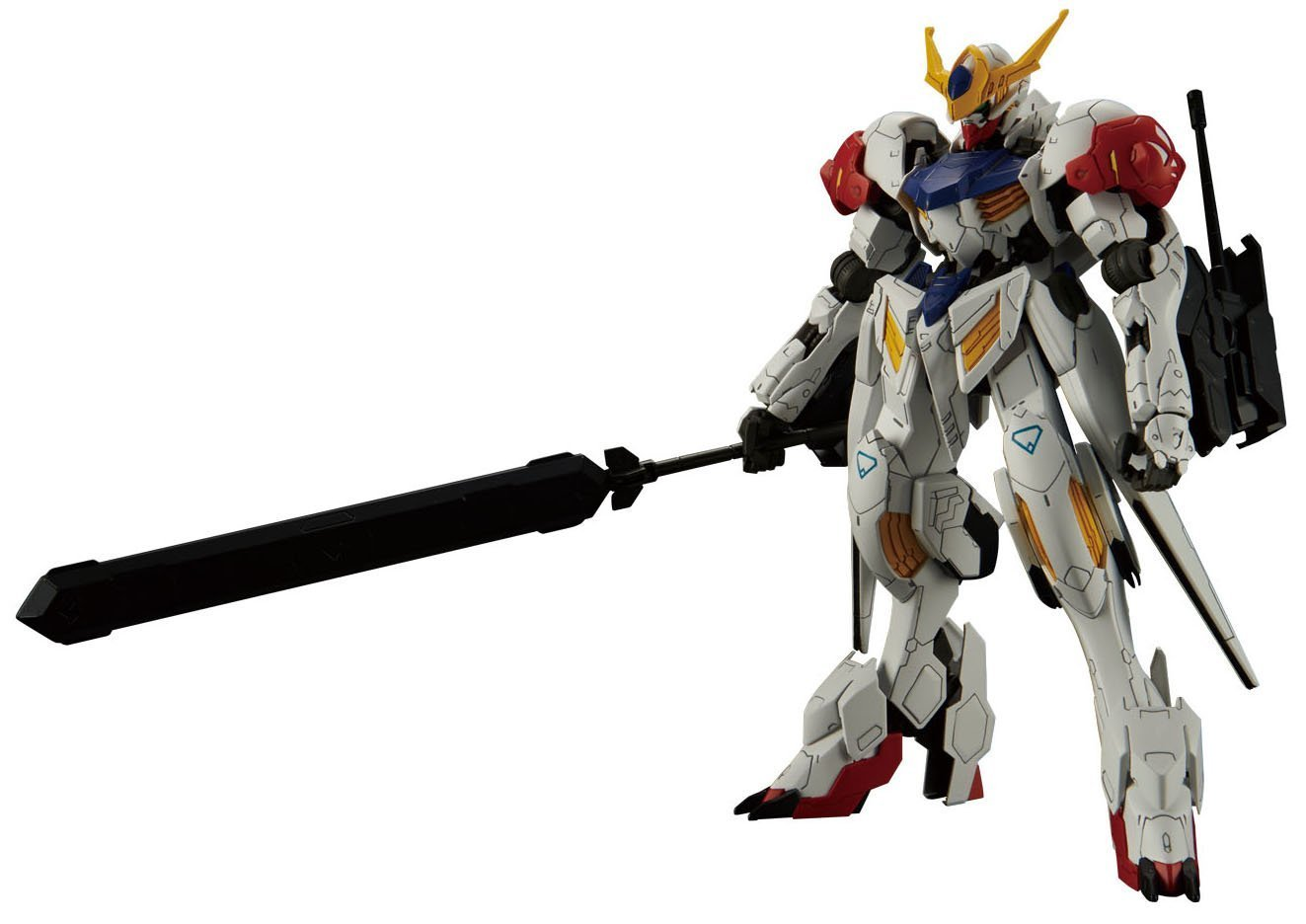 Bandai Hobby Full Mechanics 1/100 IBO Gundam Barbatos Lupus Gundam IBO: Season 2 Building Kit