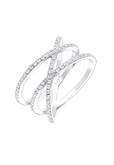Elli Women's 925 Sterling Silver Ring Oi3chVHgw4