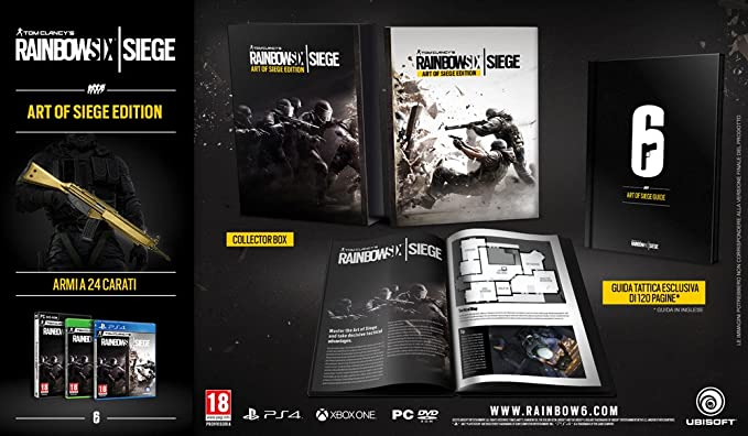 Rainbow Six Siege - Collectors Edition [Importación Italiana ...