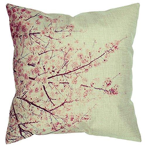 Cherry Fabric Sofa - 1