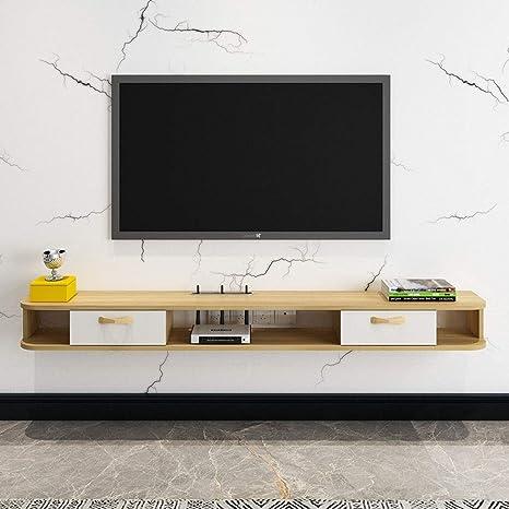Gabinete de TV montado en la pared Estante de pared Estante de TV flotante Consola de