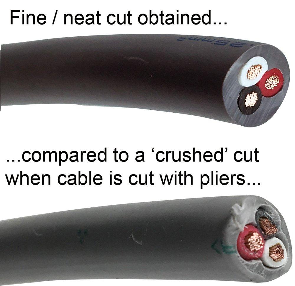 ing/énieur Pk-50/Heavy Duty c/âble Cisailles//Coupe Fil m/étallique pour nettoyer Coupe du /épais Coax pour c/âble /électrique et corde en nylon etc.