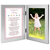 Amazon Price History for:Baby Girl Frame for Mommy - Sweet Words for Mom from Daughter - Add Photo