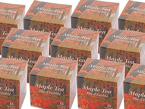 Cheena Canada souvenir maple tea 15 tea bag 6 boxes by Cheena