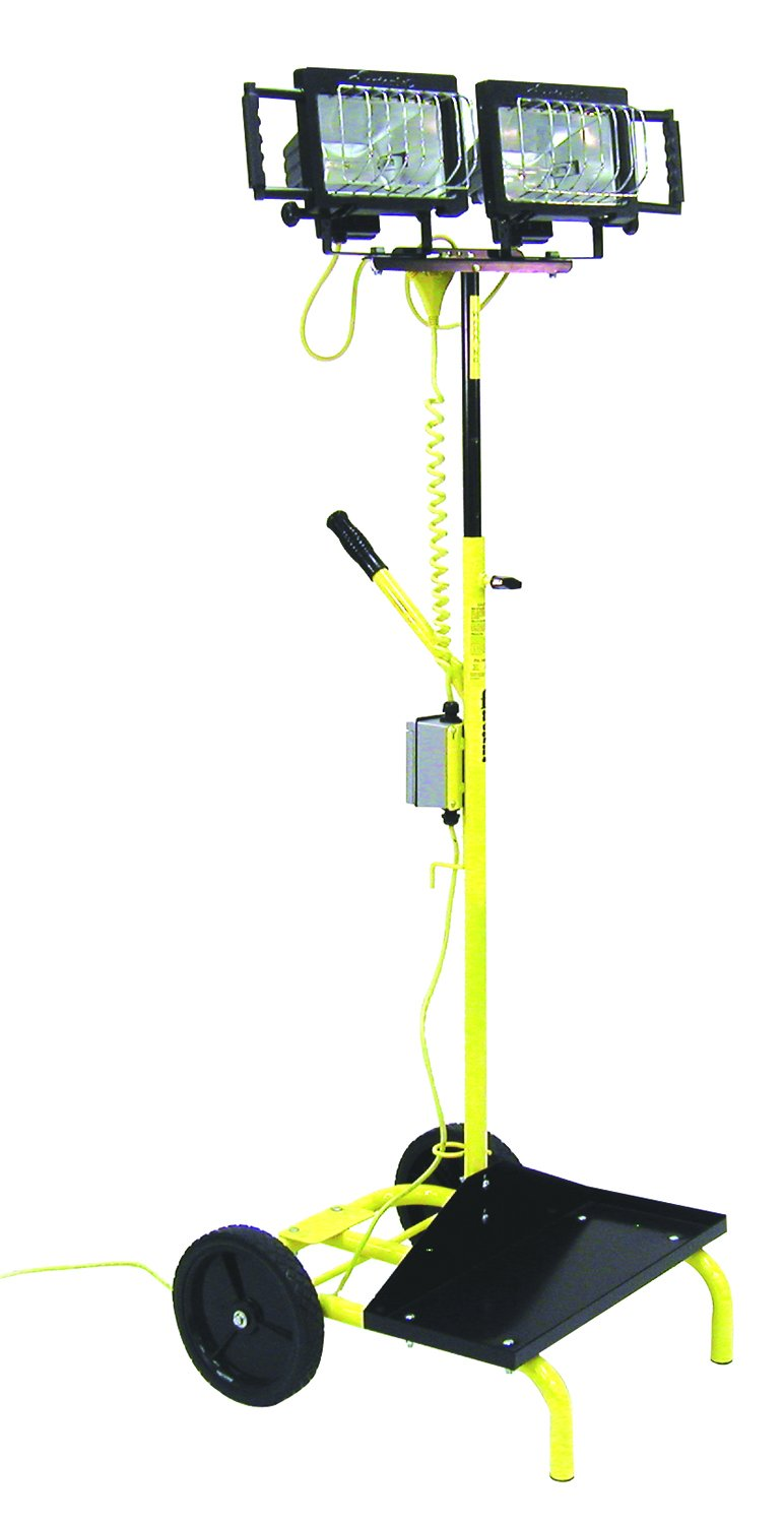TPI PUL1000QCD Heavy Duty Portable Utility Light, Cart Light Stand