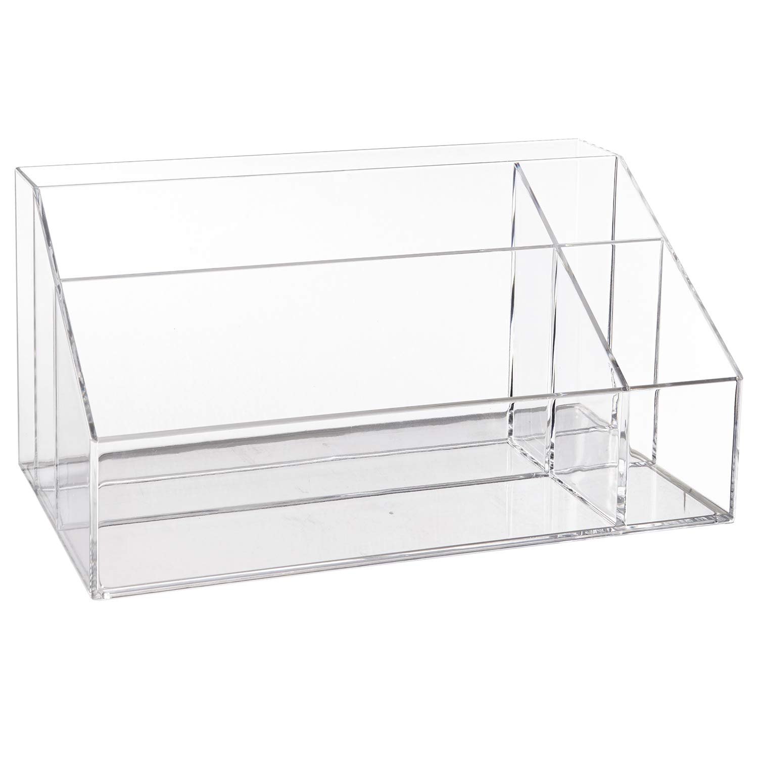 STORi Premium Quality Clear Plastic Makeup Palette and Brush Holder US Acrylic 6229