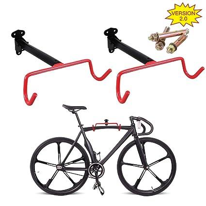 Amazon.com: PHUNAYA - Percha para bicicleta, 2 piezas ...