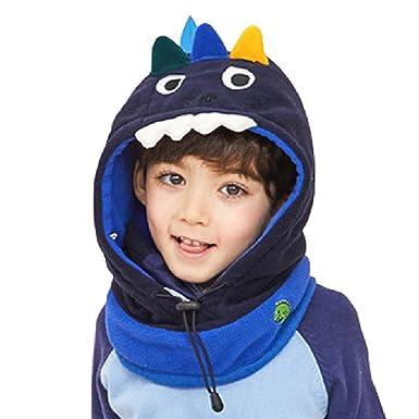 3dc182d96364a TRIWONDER Pasamontañas para niños Máscara de la cara Fleece Máscara de  esquí Cuello Calentador de nariz