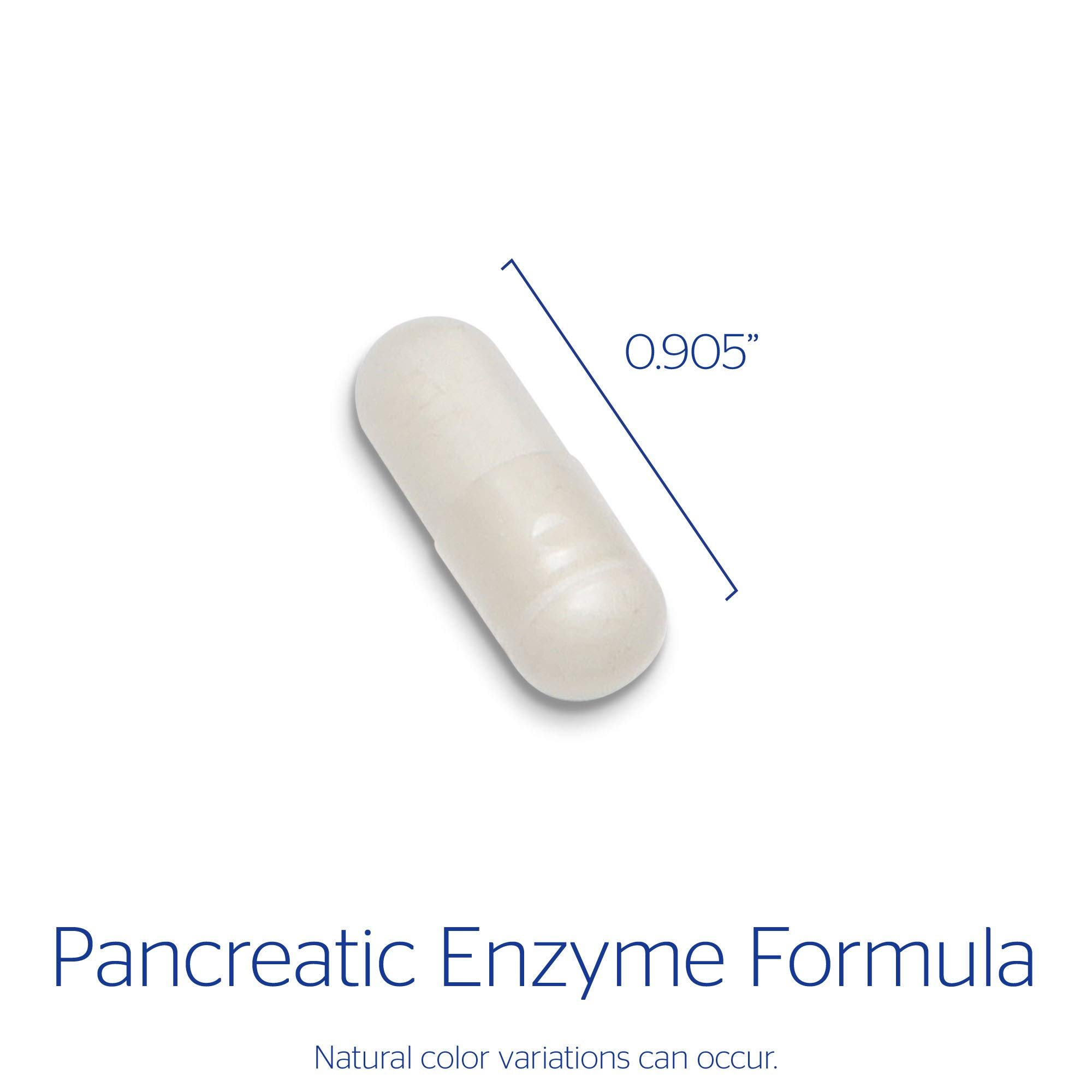 Pure Encapsulations - Pancreatic Enzyme Formula - Hypoallergenic Supplement to Support Proper Digestive Function* - 180 Capsules by Pure Encapsulations (Image #3)