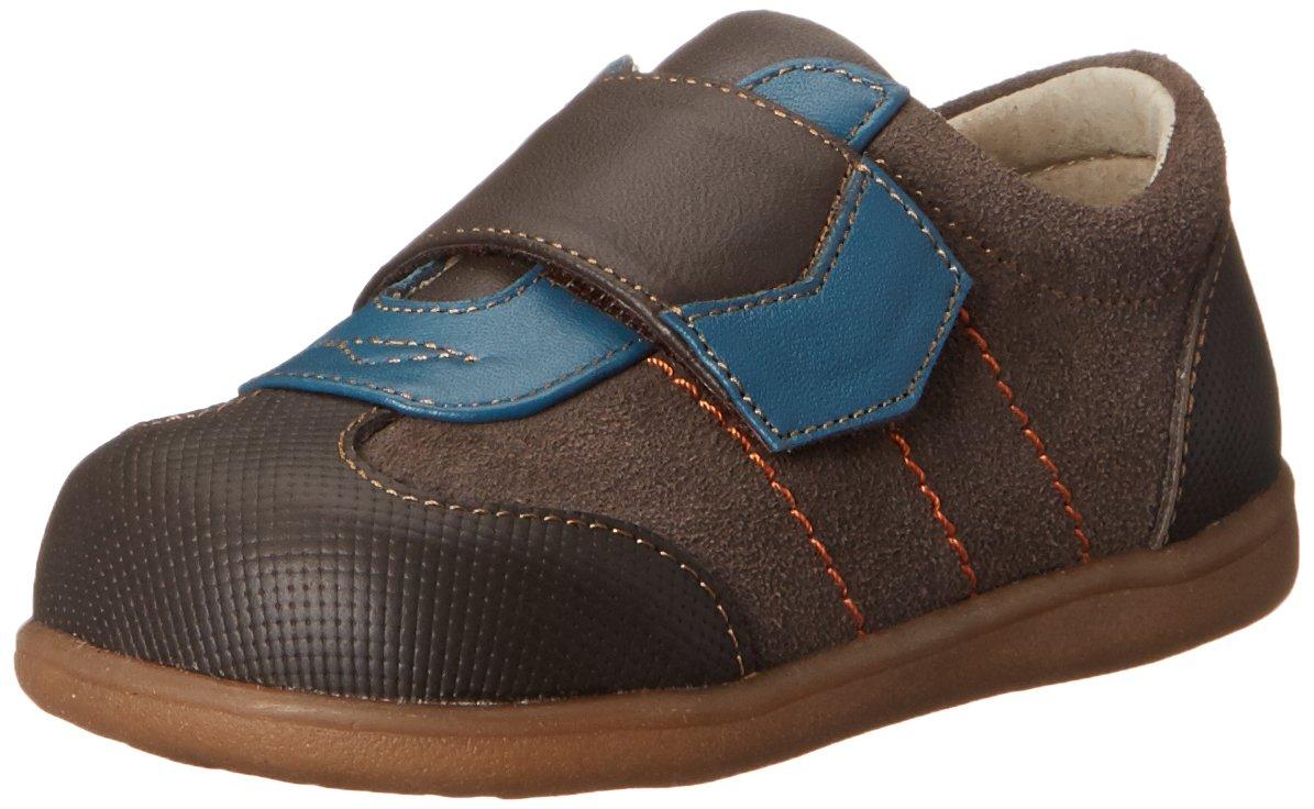See Kai Run Kanoa Sneaker (Infant/Toddler/Big Kid), Brown, 4 M US Toddler