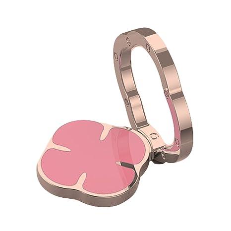 brightup teléfono celular dedo anillo soporte soporte, elegante anillo de dedo teléfono 360 ° Teléfono