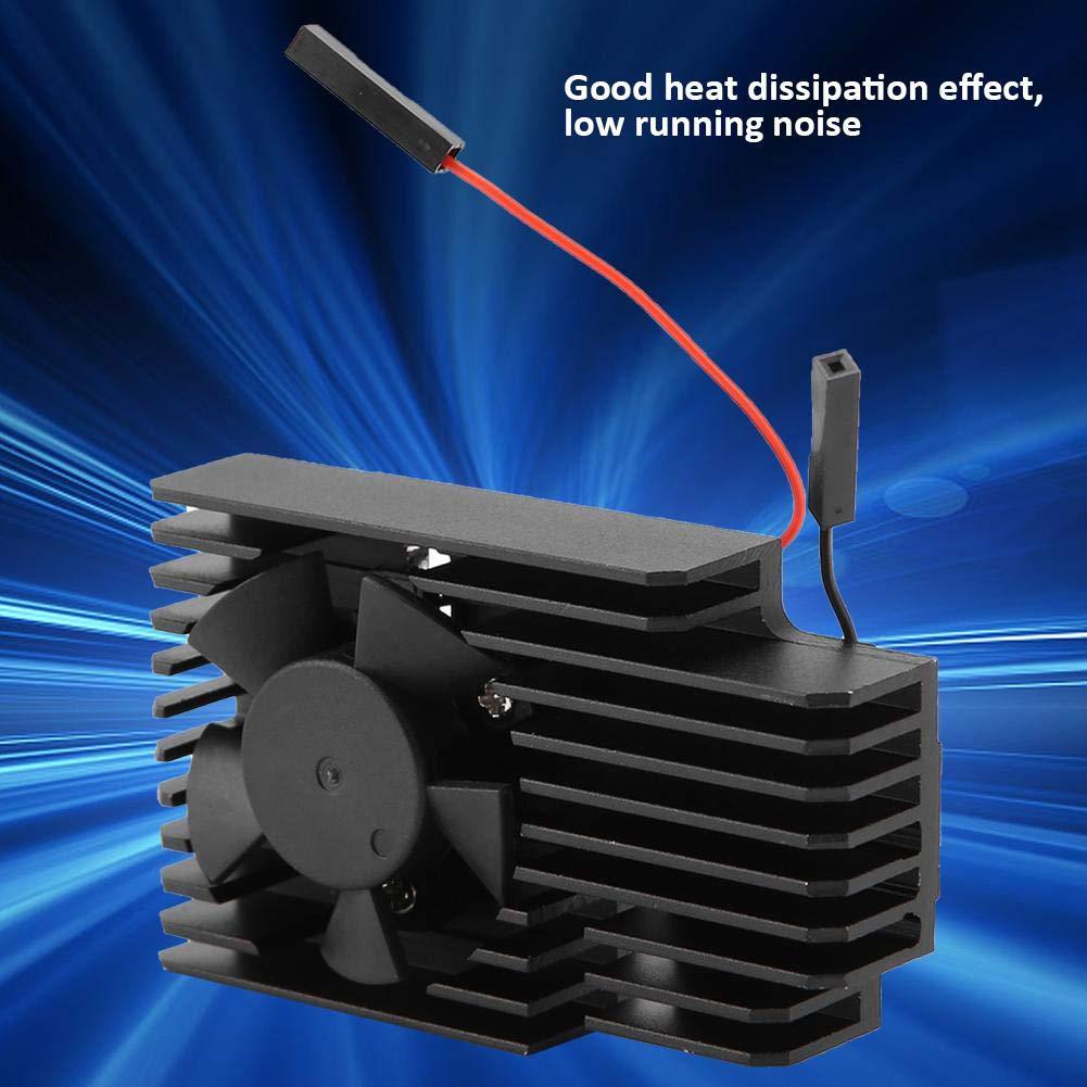 Raspberry Pi Cooling Fan Walfront Ultimate 3510 Cooling Fan Kit Heatsink Powerful Cooler for The Latest Raspberry Pi 3B+