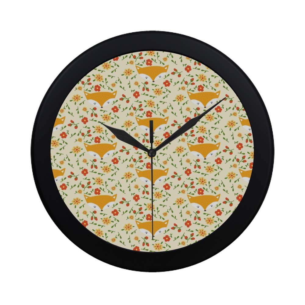 Amazon Com Wbsndb Modern Simple Floral Pattern Vector On Yellow